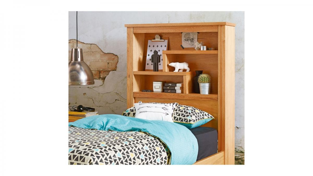 Buy Cargo Bed With Bookcase Bedhead