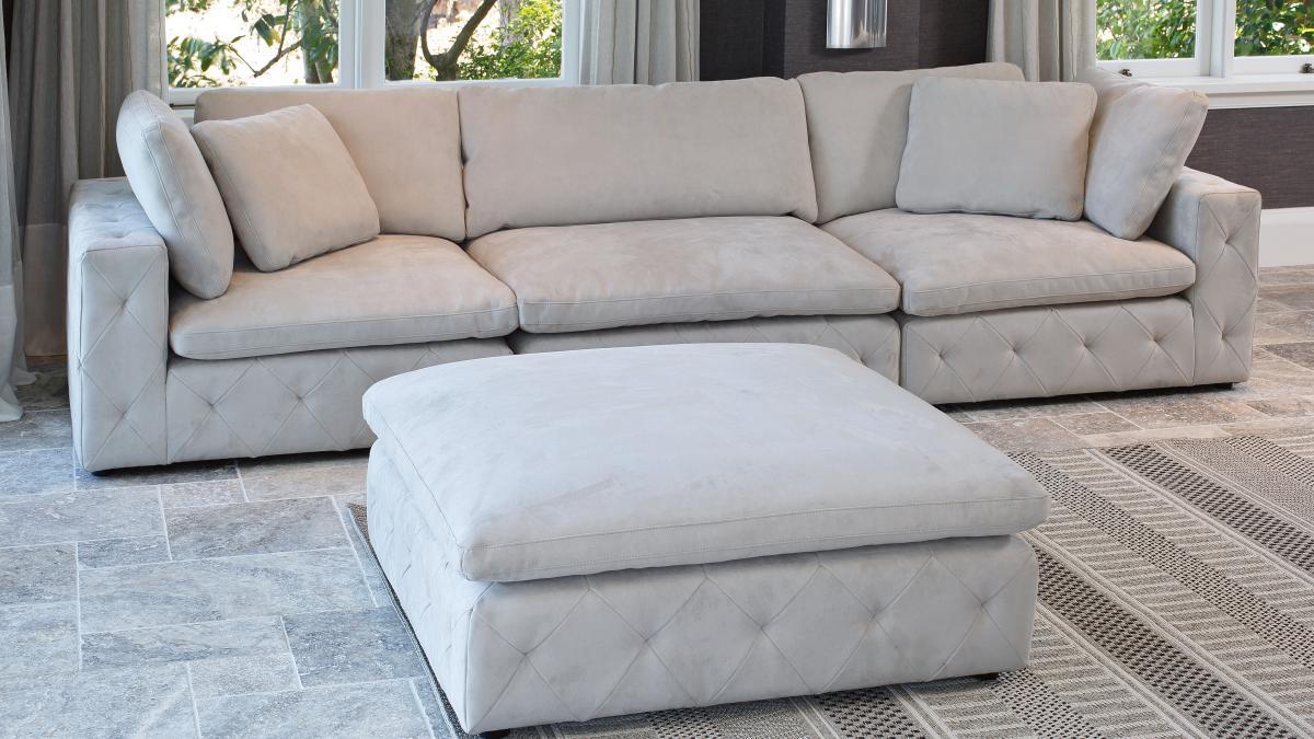 San Fran 3 Seater Fabric Sofa