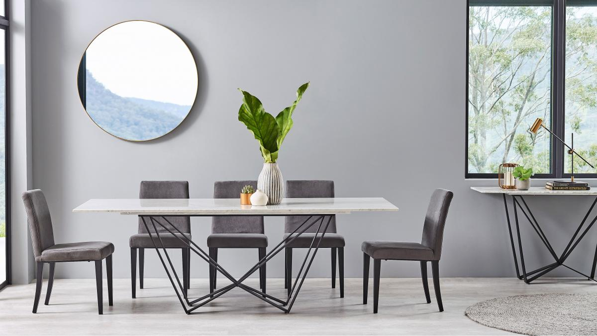 Buy Shabayer Dining Table Harvey Norman Au