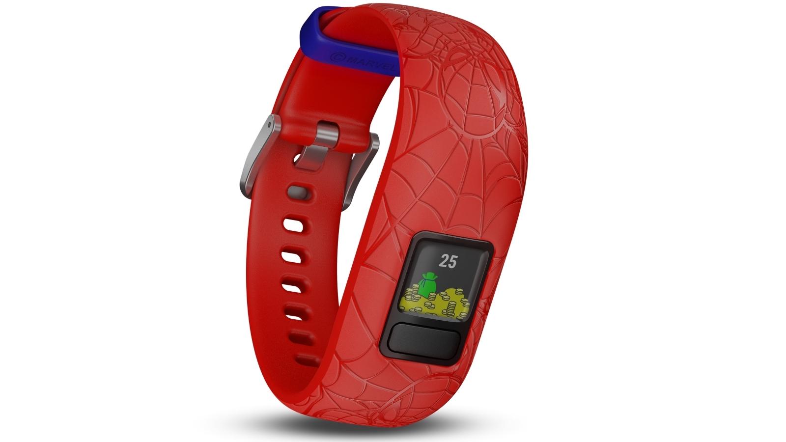 91c277a1 Cheap Garmin Marvel Spider-Man Vivofit Jr 2 Adjustable Activity Tracker -  Red | Harvey Norman AU