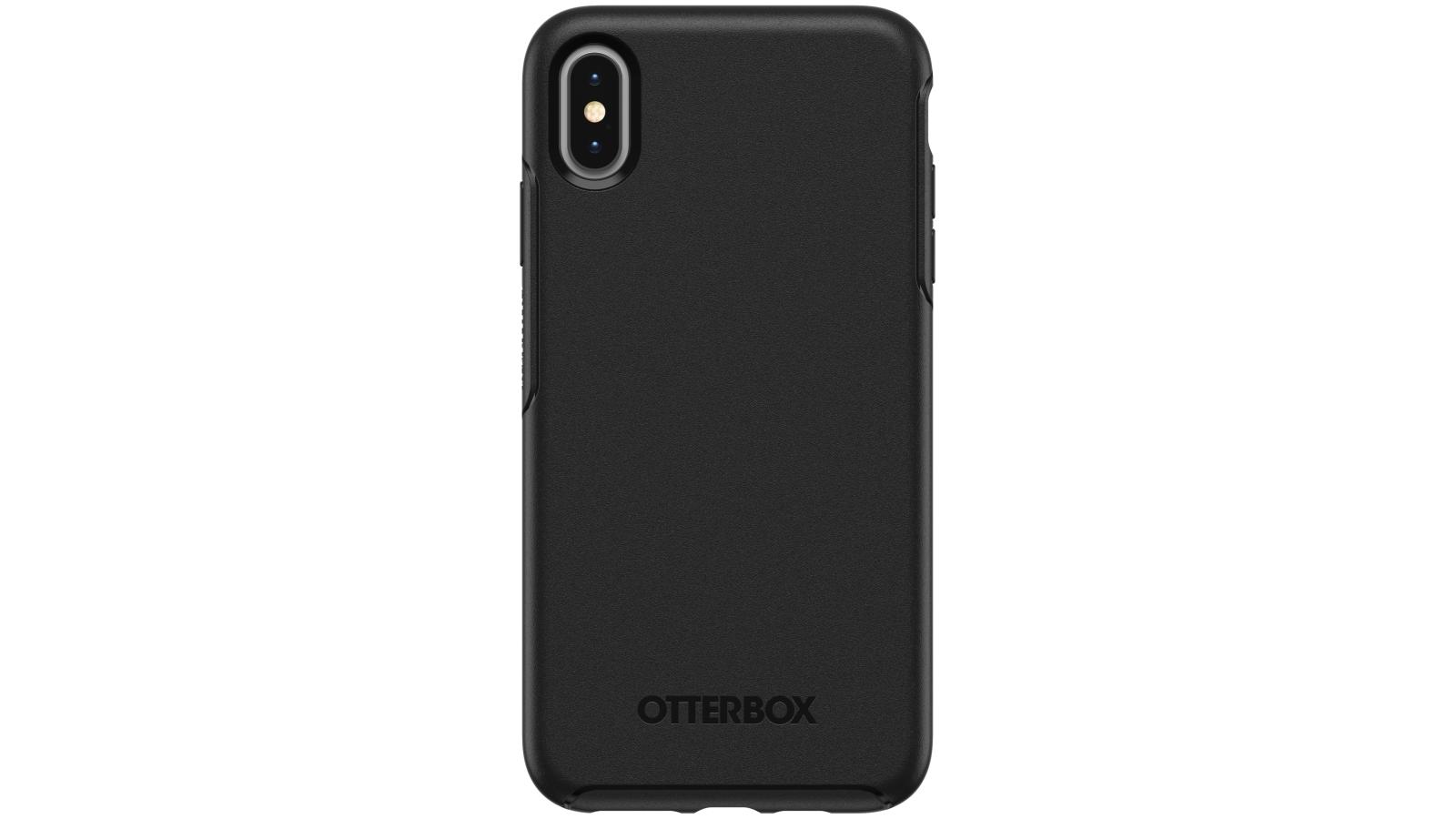the latest ca62b 36dc3 OtterBox Symmetry Case iPhone XS Max - Black