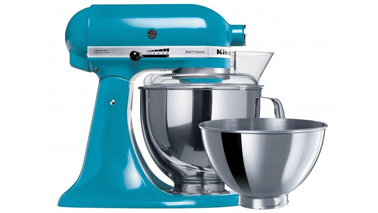Buy KitchenAid KSM160 Artisan Stand Mixer - Crystal Blue | Harvey ...