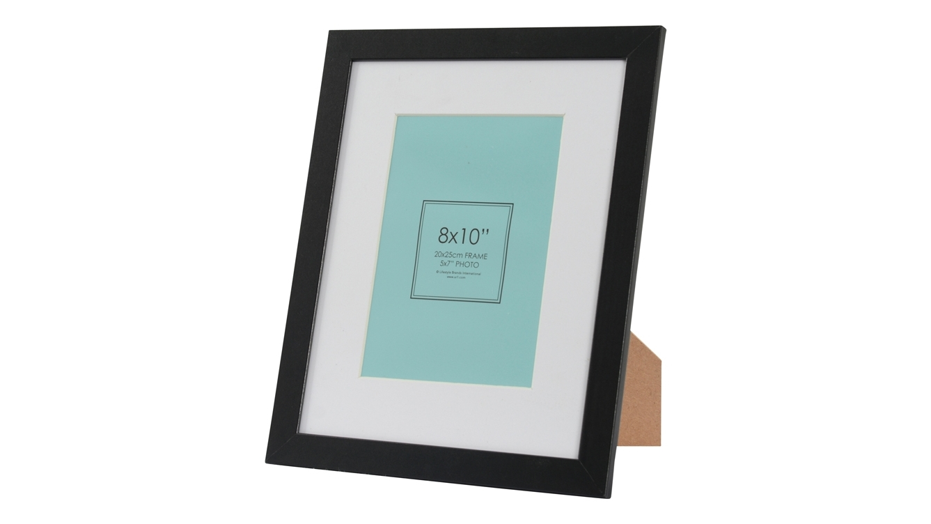 Image of UR1 Ollie 8x10-inch Photo Frame with 5x7-inch Opening - Black