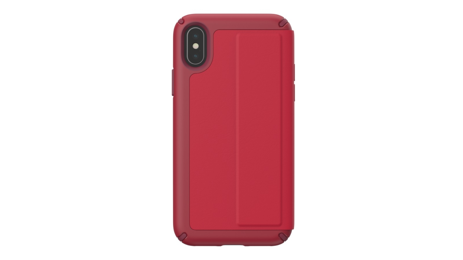 huge selection of 9c710 b62a7 Speck Presidio Folio Leather Case for iPhone XS - Red