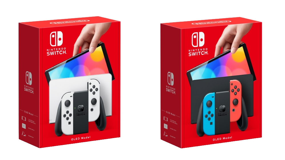 Image of Nintendo Switch Console OLED Model