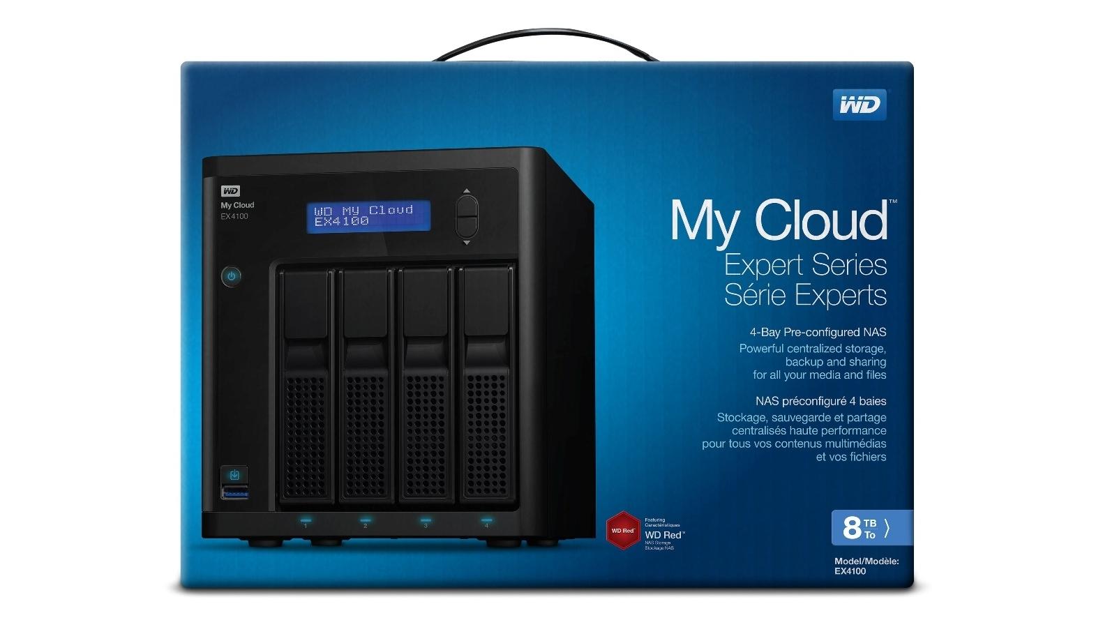 Buy WD My Cloud EX4100 Expert 8TB Network Hard Drive | Harvey Norman AU