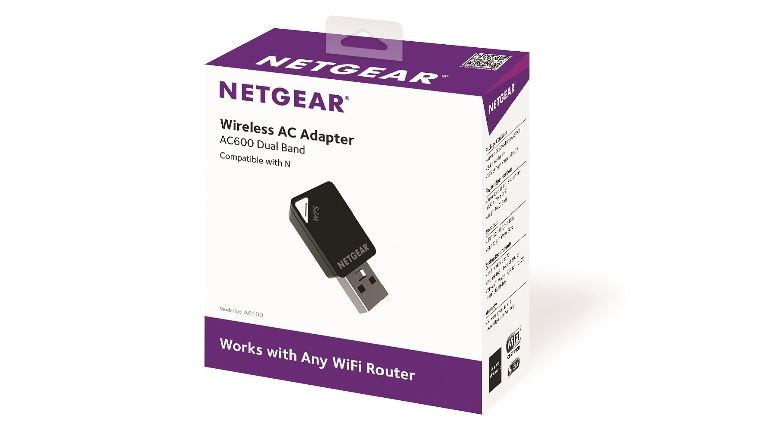 Buy Netgear A6100 Ac600 Wifi Usb Mini Adapter Harvey Norman Au Already Purchased A To Ethernet Converter Plug Into