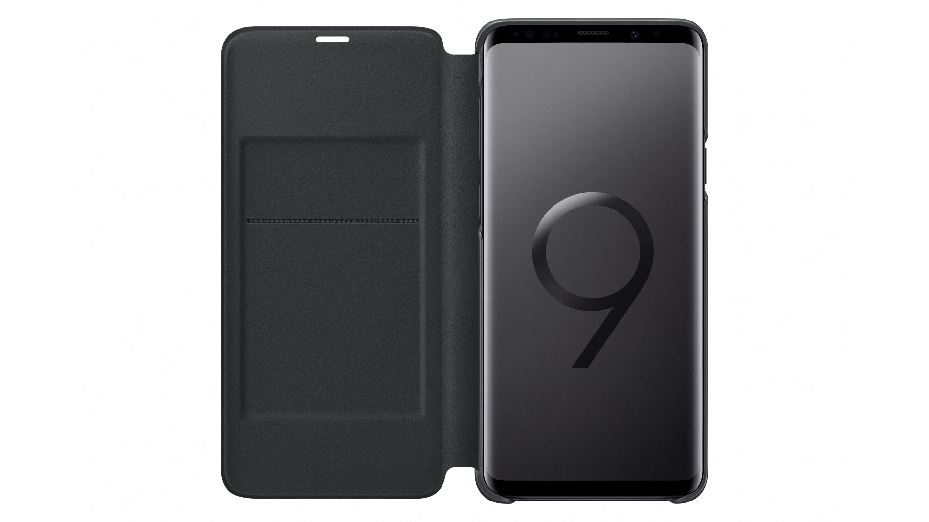 new product b9d37 a554e Samsung Galaxy S9+ LED View Cover - Black