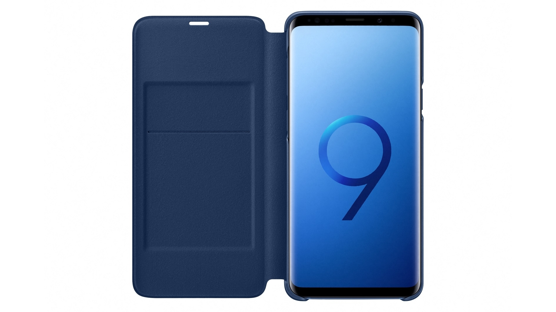 buy popular 9962a f7c14 Samsung Galaxy S9+ LED View Cover - Blue