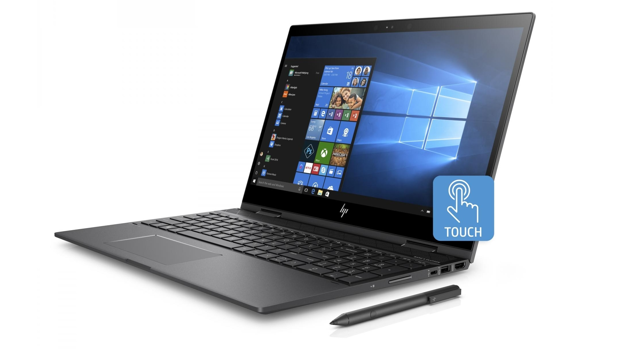 HP Envy X360 15 6-inch Ryzen 3/8GB/128GB SSD 2 in 1 Device