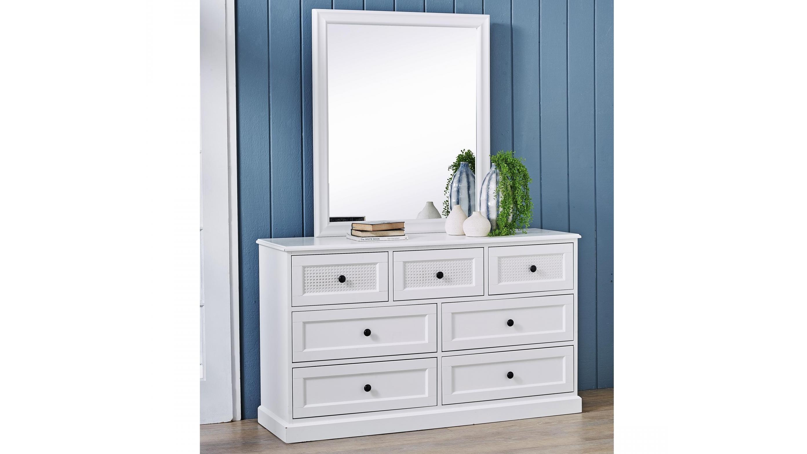 Buy Parisian 7 Drawer Dresser With Mirror Harvey Norman Au