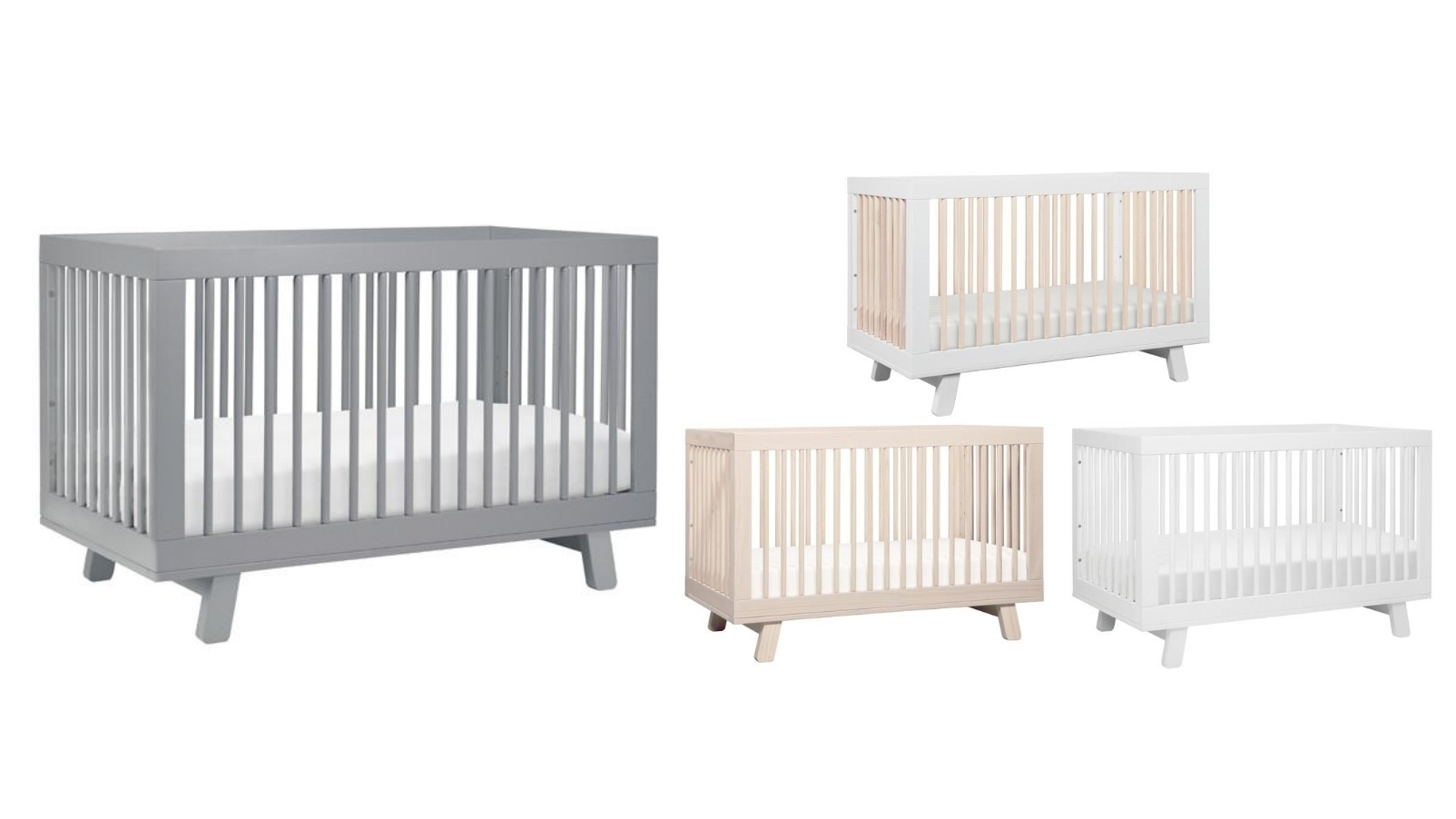 Image of Babyletto Hudson 3-in-1 Convertible Cot