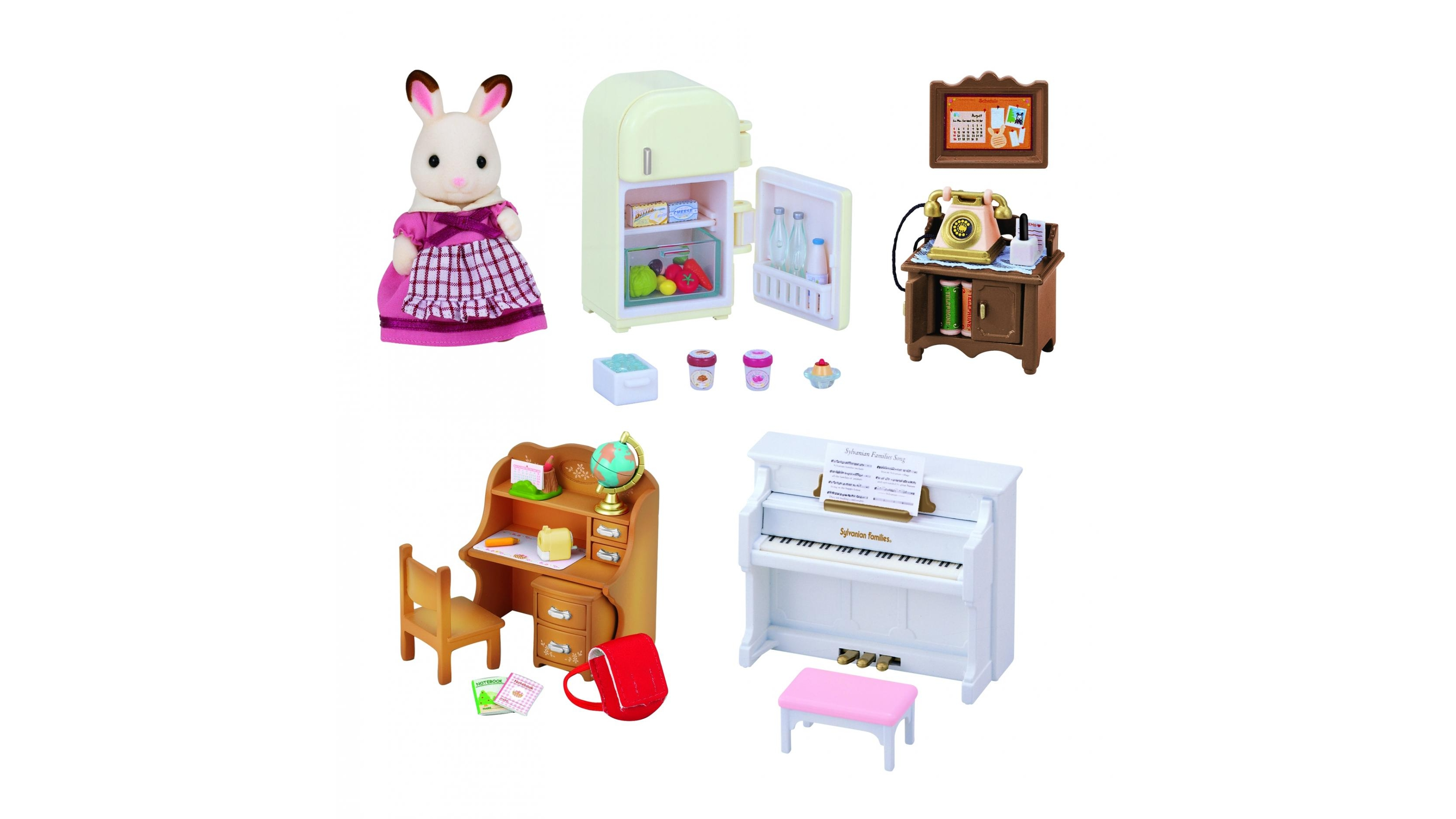 Sylvanian Families Furniture oven rack microwave
