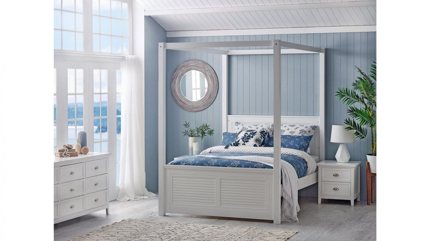 Picture of: Buy Lilly 4 Poster Bed Queen Harvey Norman Au