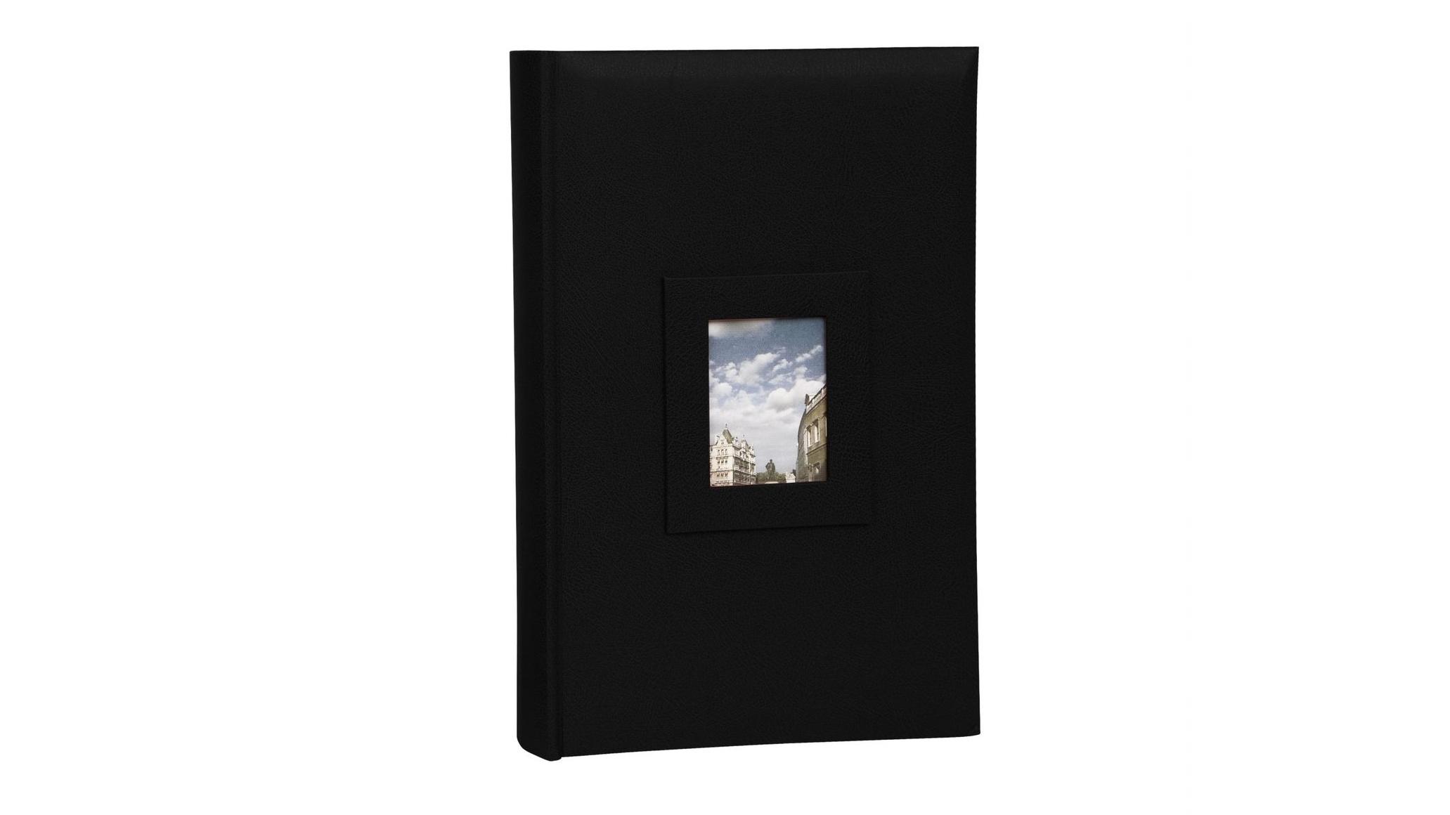Image of Platinum Concerto 4x6 Slip-In 4x6 300 Photo Album - Black