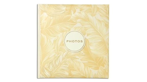 Image of Platinum Golden Palms Slip-In 4x6 200 Photo Album