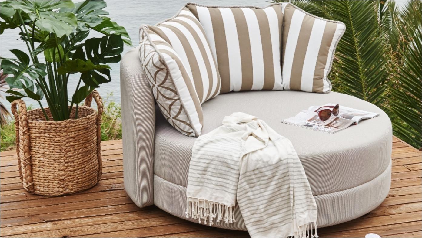 Buy sunpod outdoor pod sofa harvey norman au
