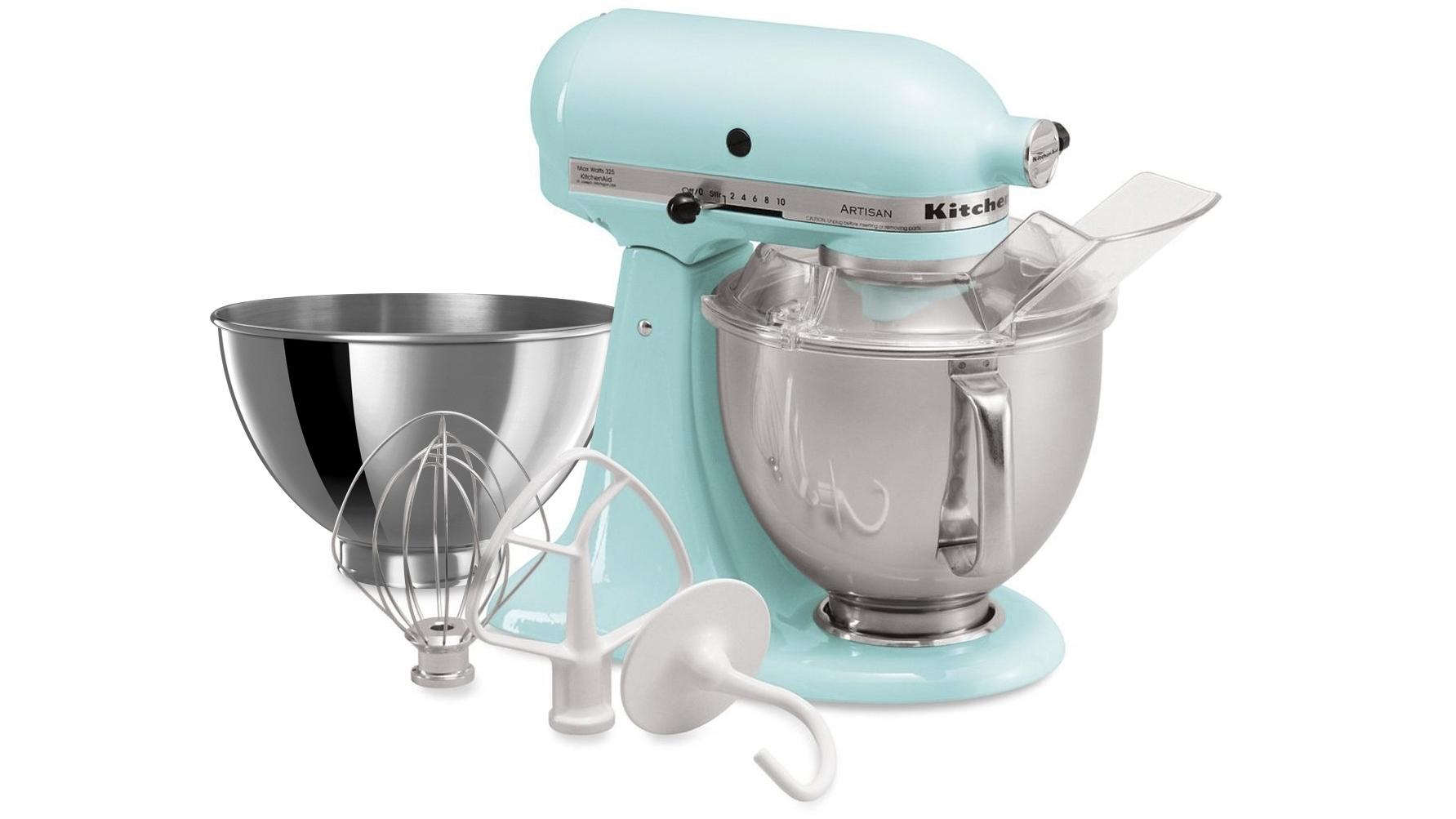 Buy KitchenAid KSM160 Artisan Stand Mixer - Ice   Harvey Norman AU