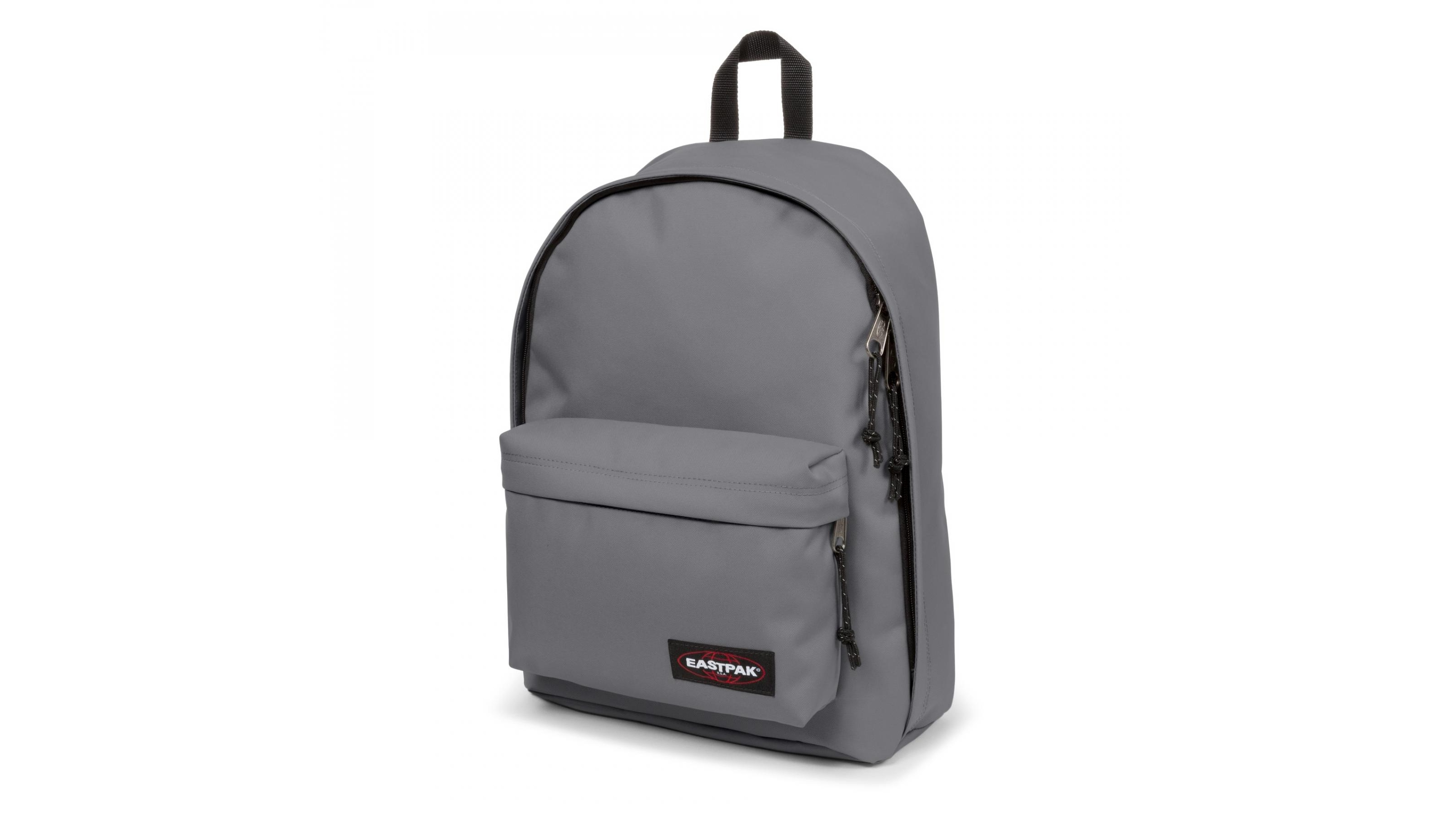 ce3be710c28 Buy Eastpak Out of Office Laptop Bag - Woven Grey | Harvey Norman AU
