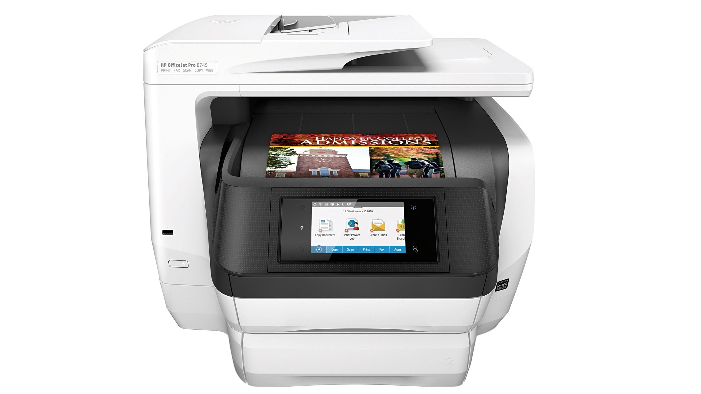 HP OfficeJet Pro 8745 All-In-One Printer