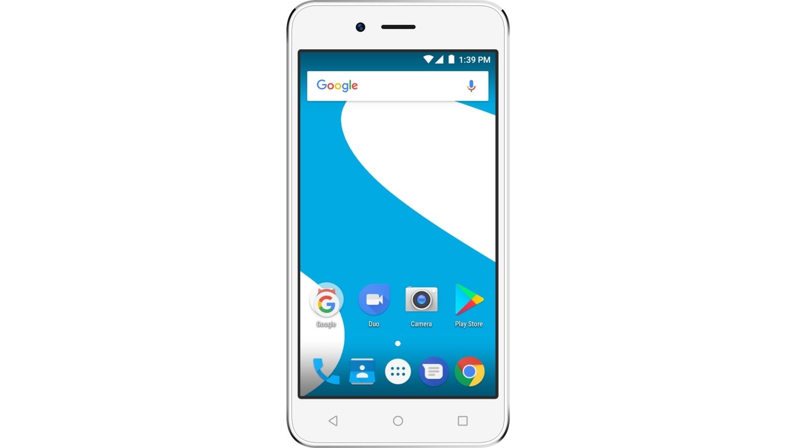 Aspera Jazz 3G Smartphone - White