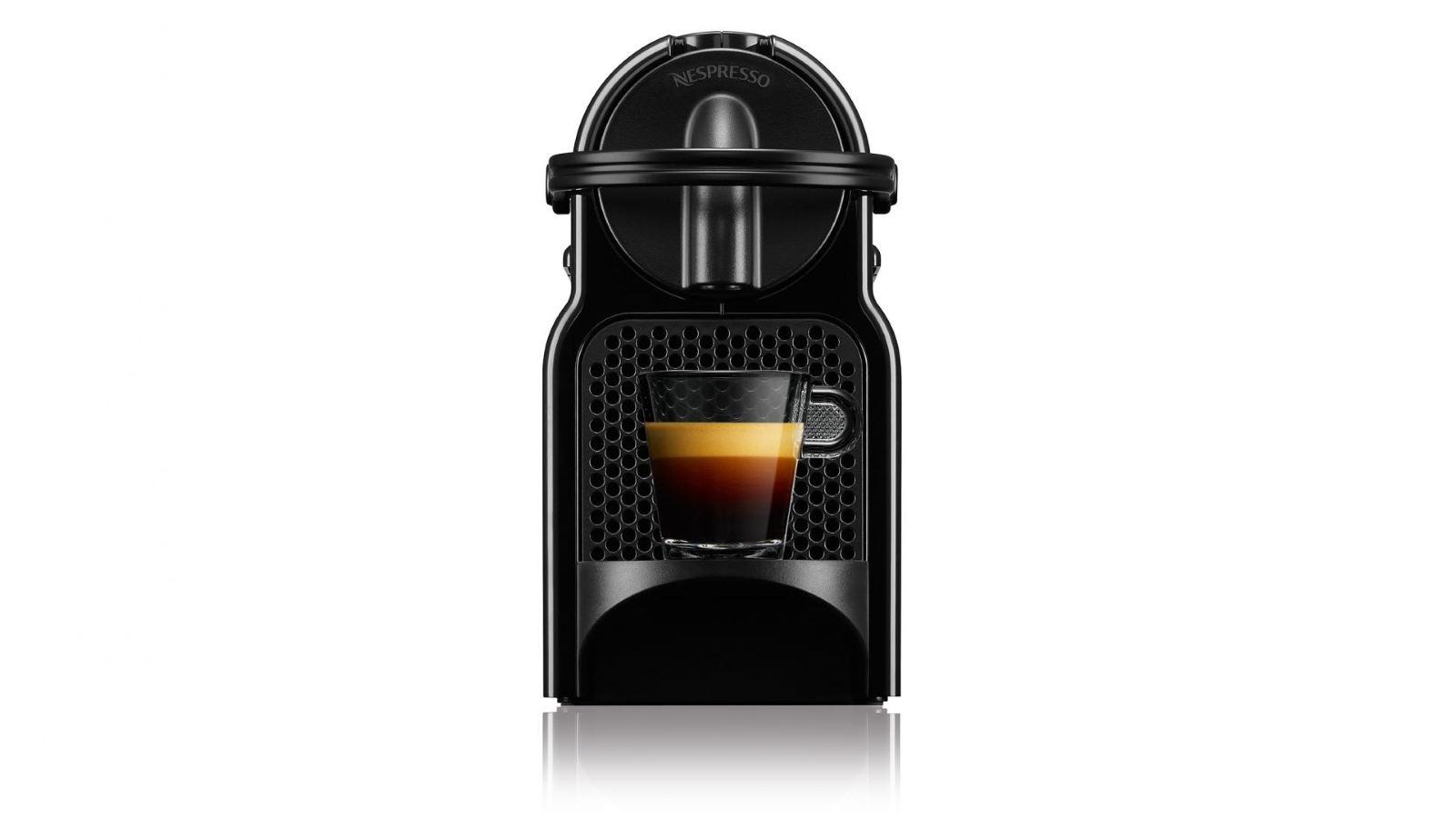 Nespresso EN80BAE Inissia Espresso Cappuccino Machine w Aeroccino By Delonghi