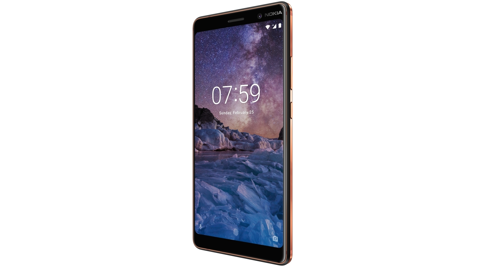 Cheap Nokia 7 Plus with Android One - Black Copper | Harvey Norman AU
