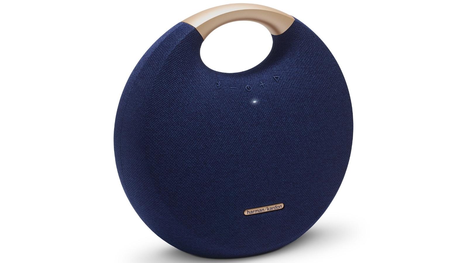 Harman Kardon Onyx Studio 5 Portable Bluetooth Speaker - Blue
