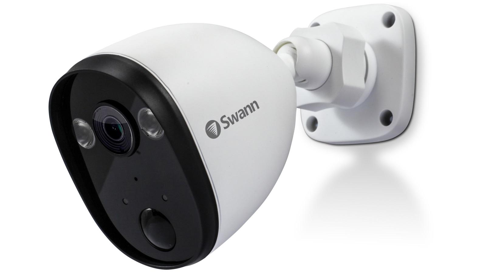 Buy Swann 1080p Wifi Spotlight Outdoor Security Camera Harvey Norman Au