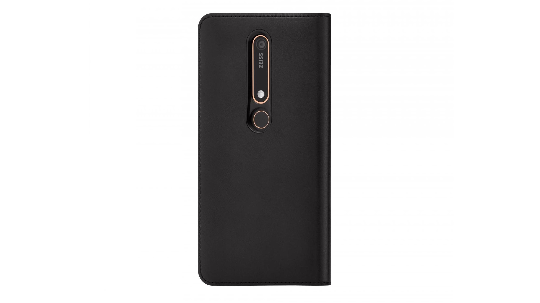 half off 43e2a 3b3a7 Nokia 6.1 Flip Cover - Black