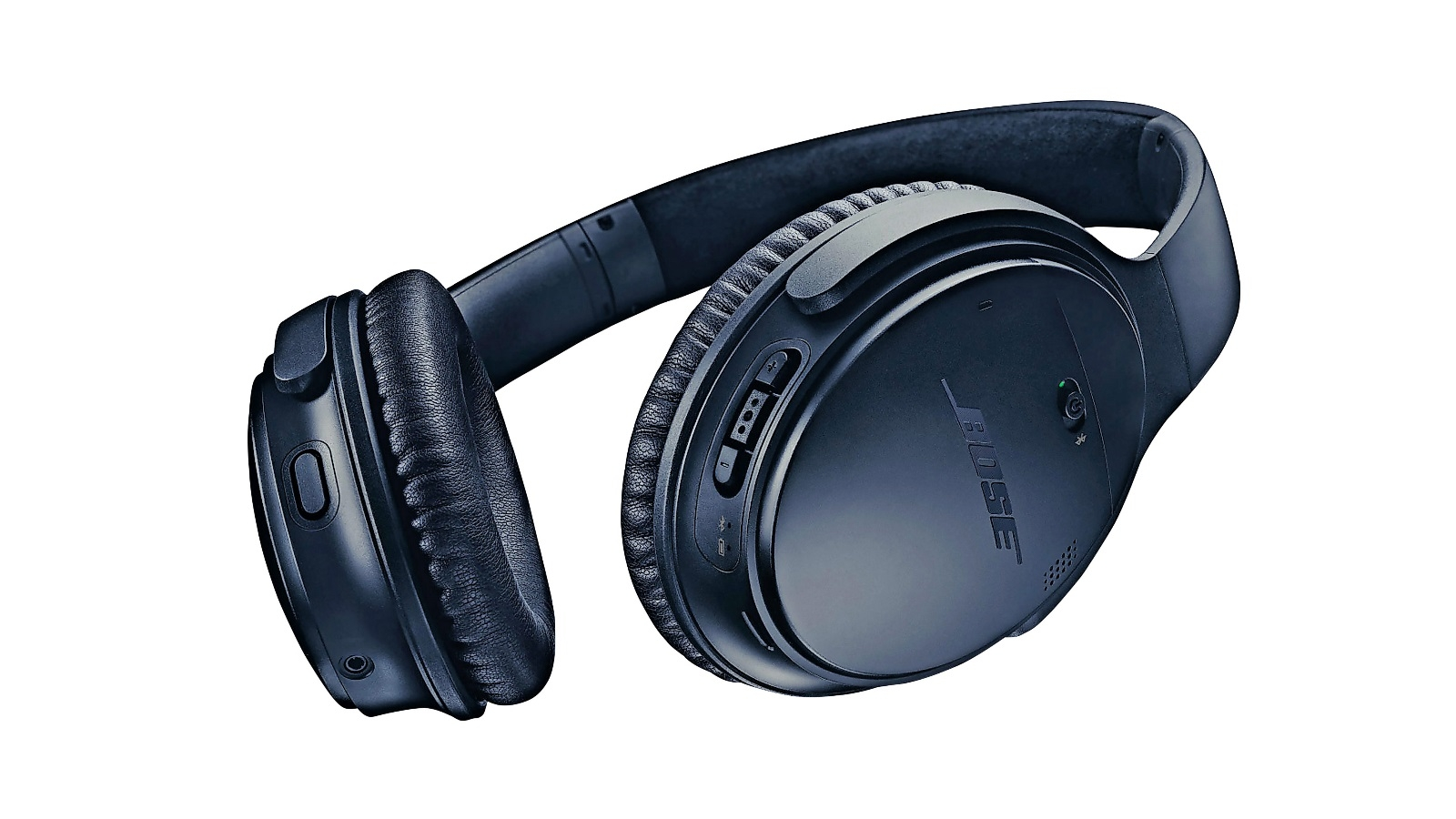 2651dc3a380 Buy Bose QuietComfort 35 II Wireless Over-Ear Headphones - Triple Midnight  | Harvey Norman AU