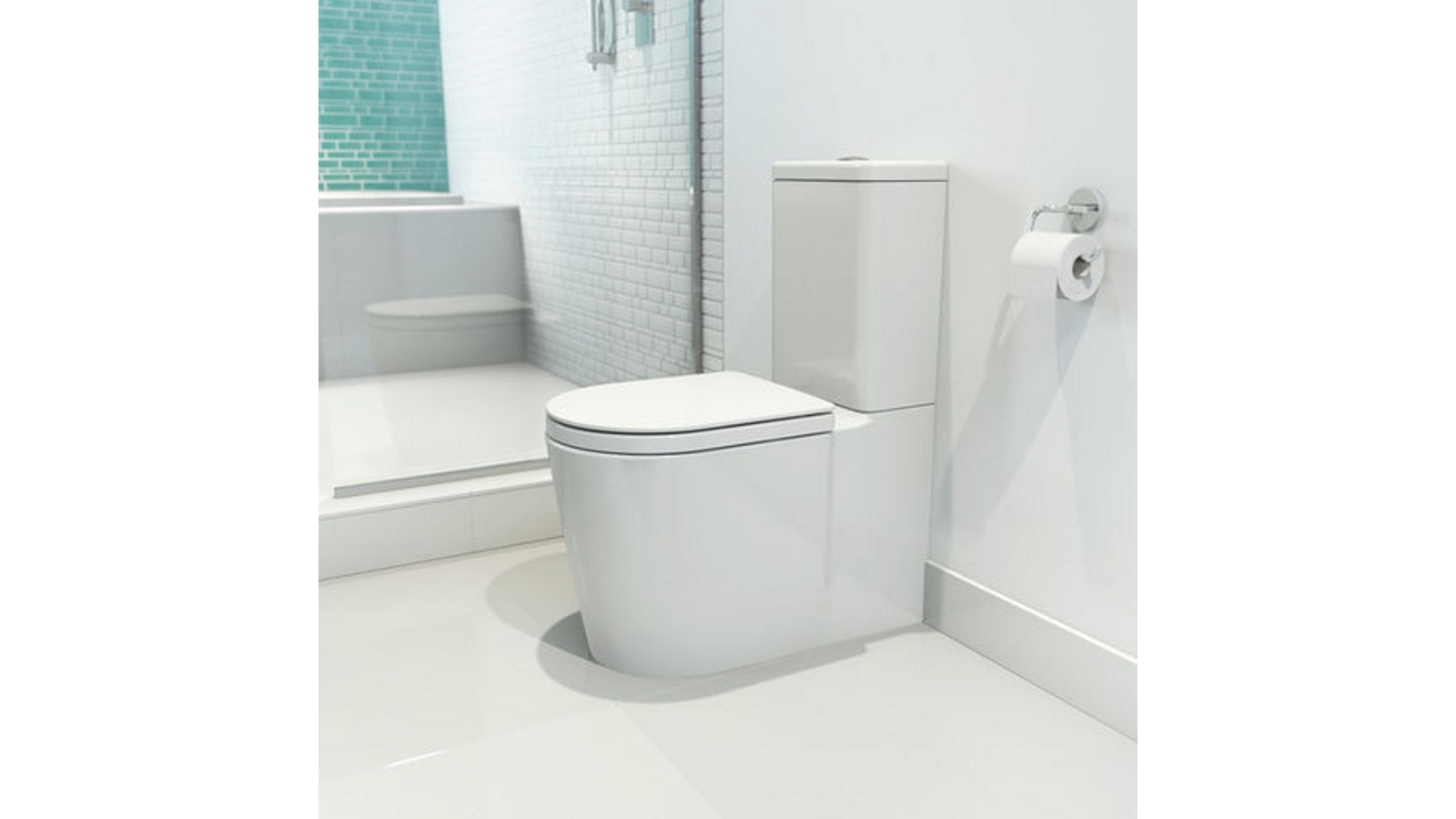 Buy Caroma Liano Clean Flush Easy Height Wall Faced Toilet Suite ...