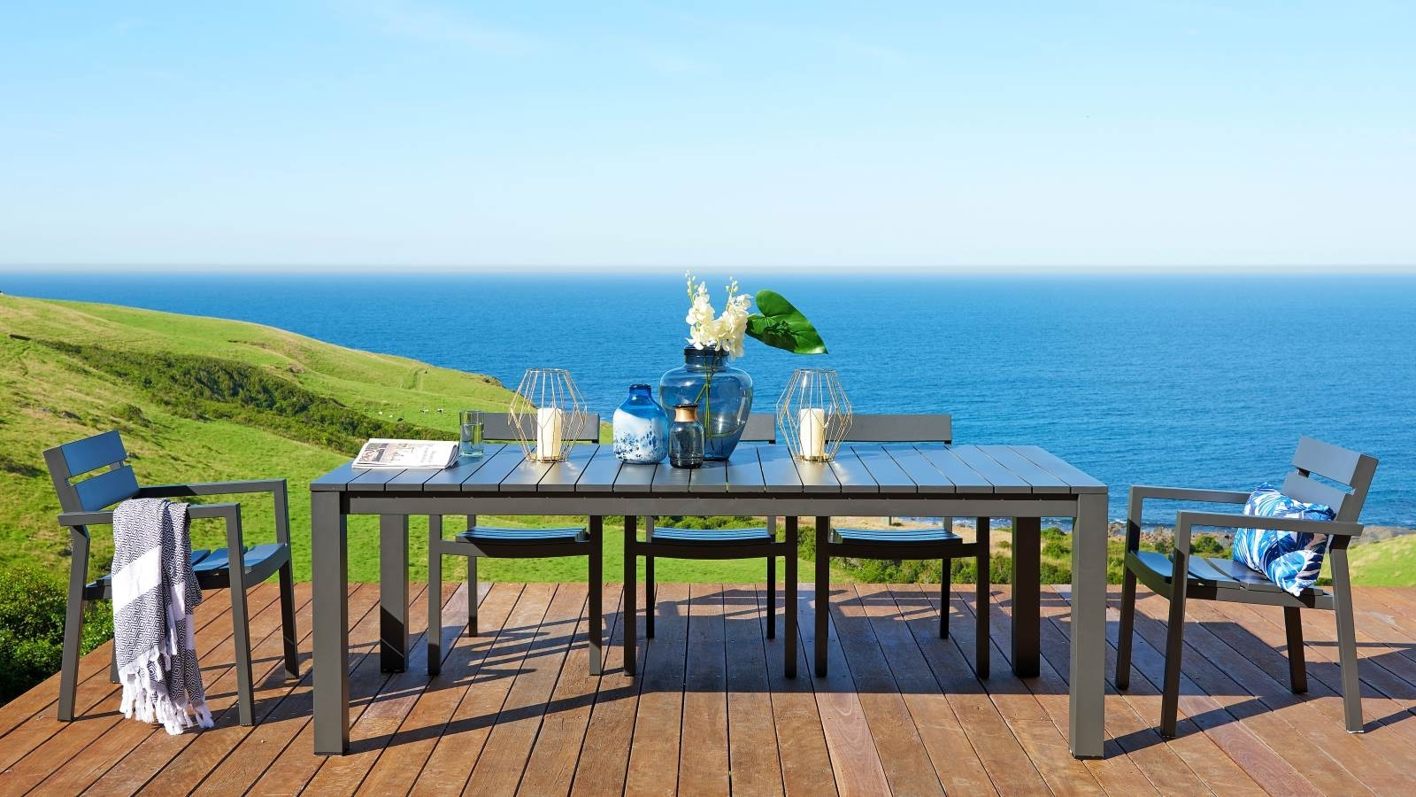 Buy quay outdoor dining setting harvey norman au