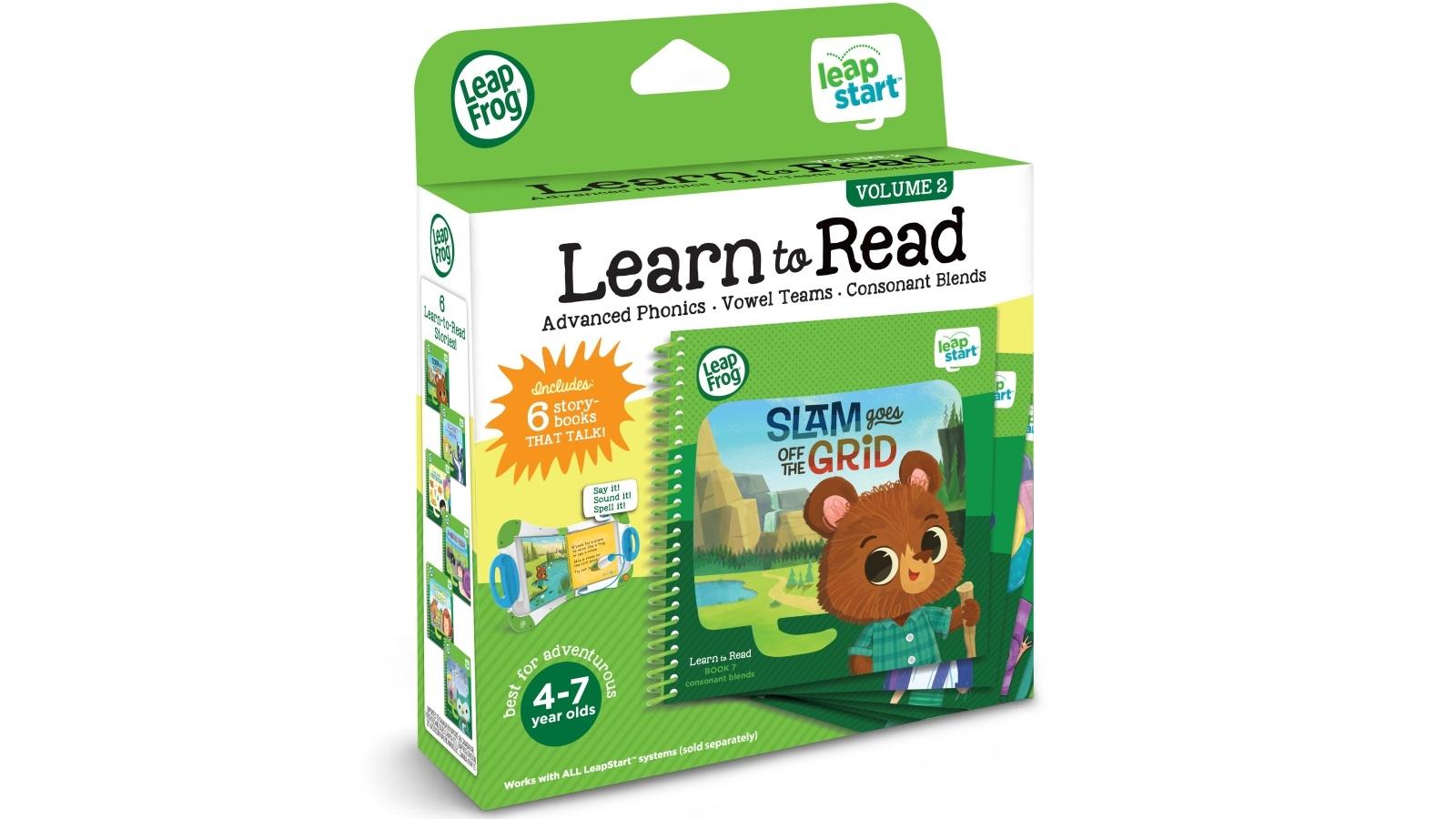2668fca843128 Buy LeapFrog LeapStart Learn to Read Level 3 Volume 2 Book Set ...