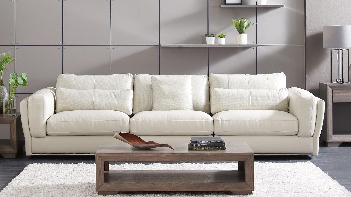 Buy cameo 3 seater leather sofa harvey norman au