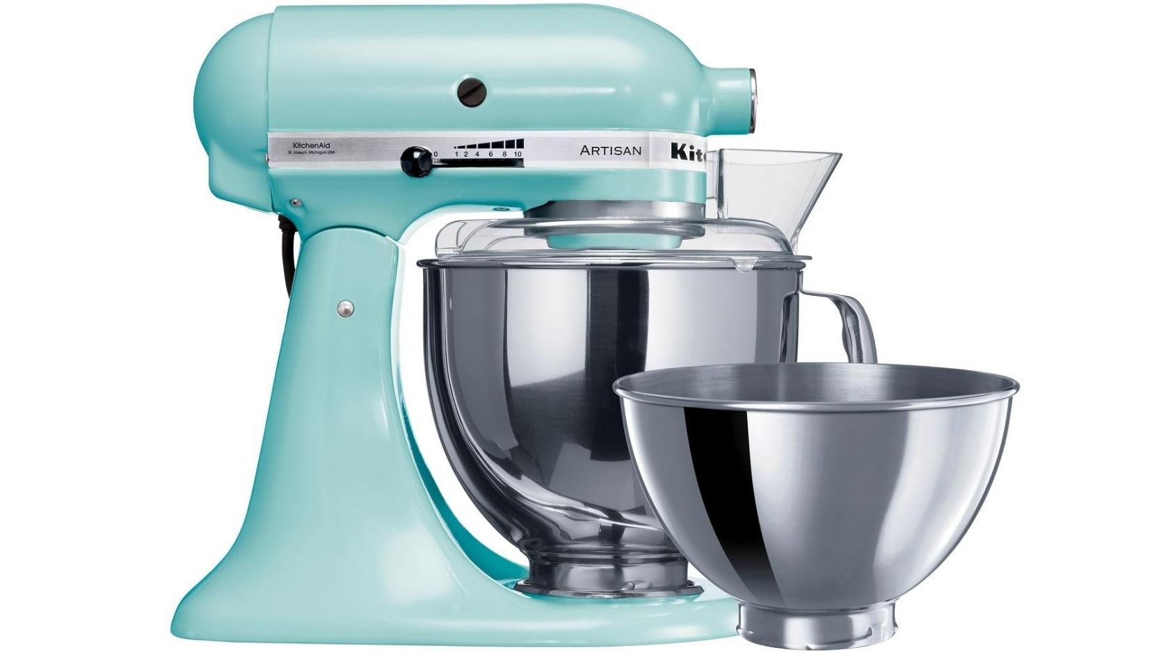 Buy KitchenAid KSM160 Artisan Stand Mixer - Ice | Harvey Norman AU