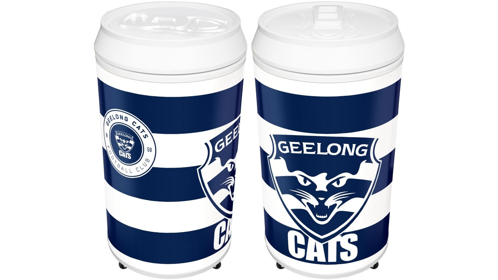 Buy Geelong Cats Coola Can Fridge Harvey Norman Au