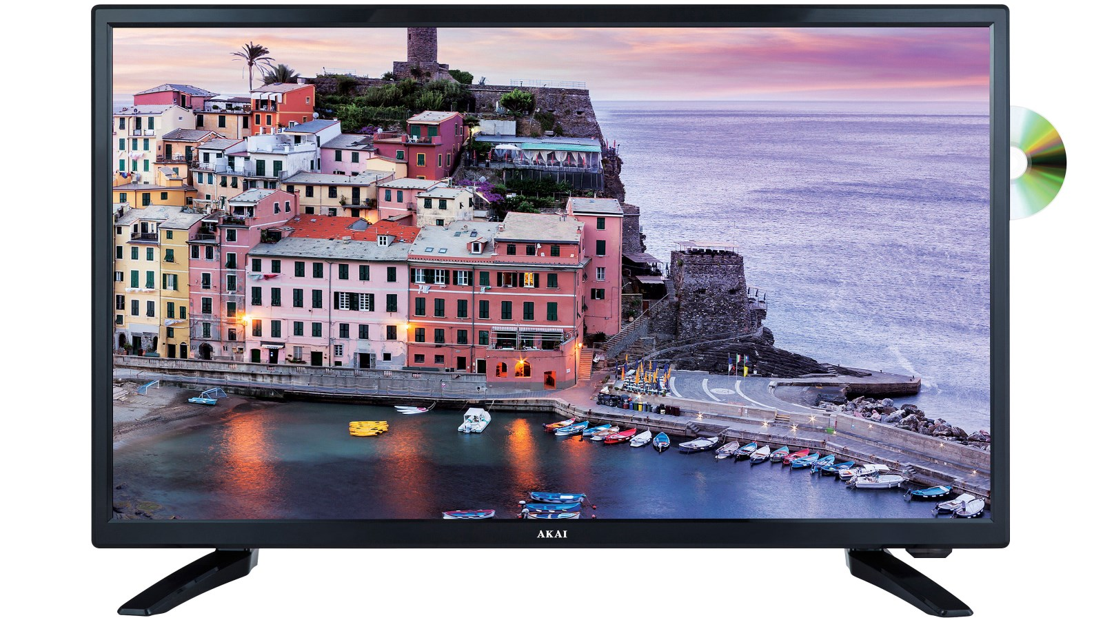 Akai 24-inch FHD LED LCD TV with DVD Player