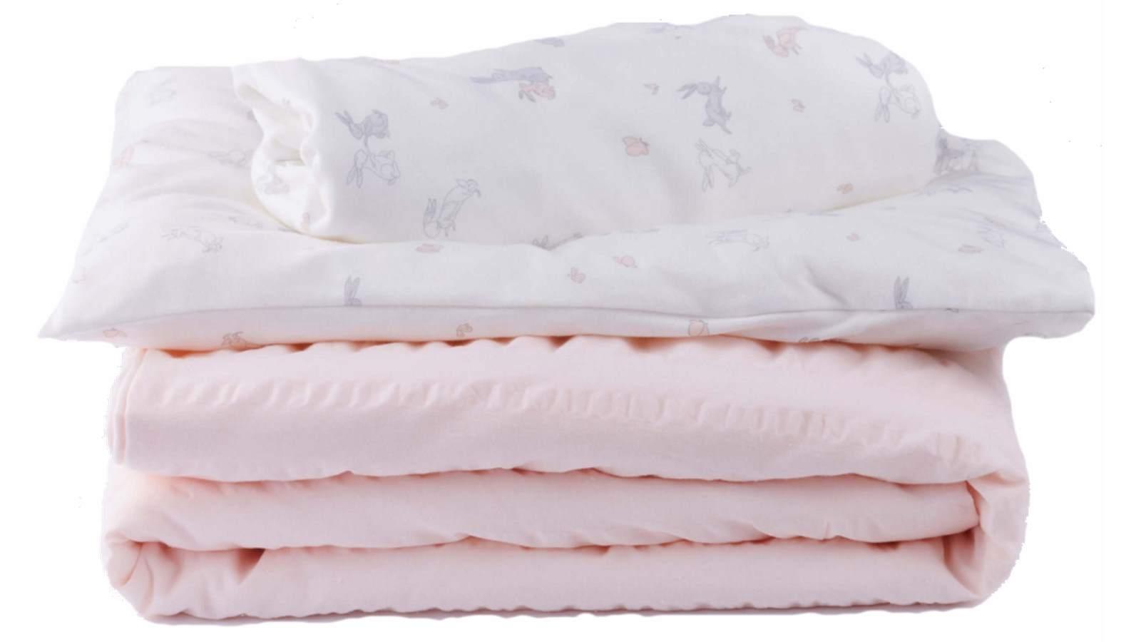 Image of Boori Emily Nursery Bedding Set - Pink