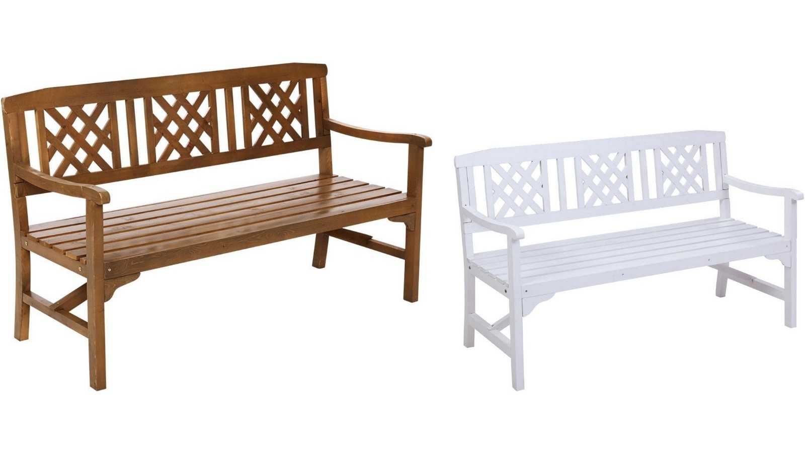 Buy Gardeon 3 Seat Outdoor Wooden Bench Chair Harvey Norman Au