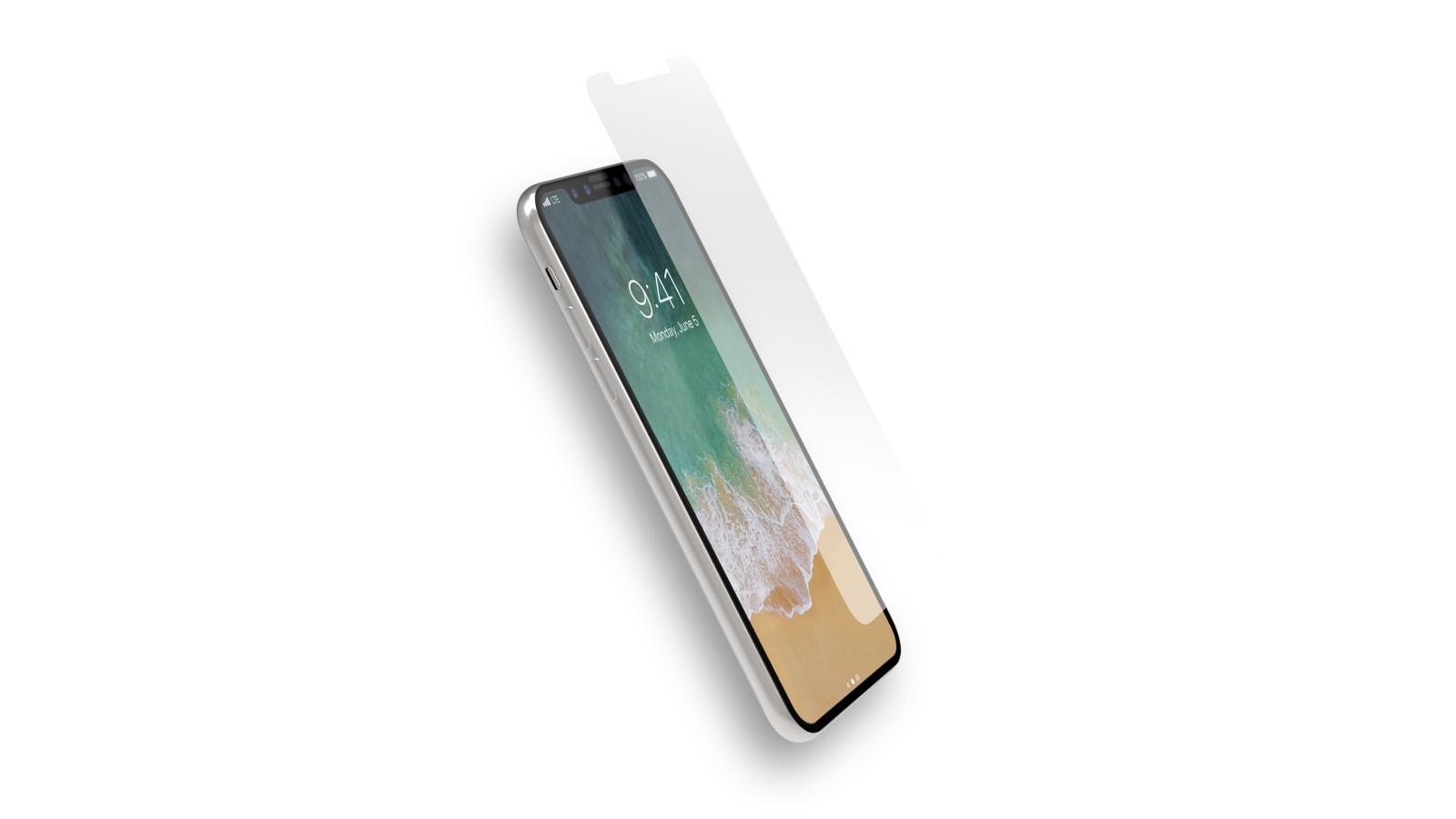 Cygnett OpticShield 9H Glass Screen Protector for iPhone X