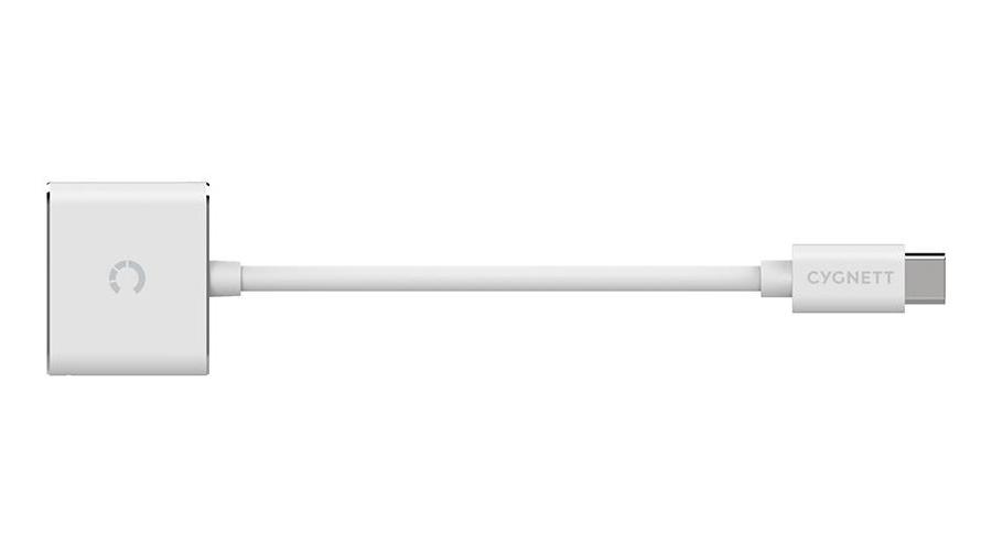 Cygnett Essentials USB-C Audio & Charge Adapter