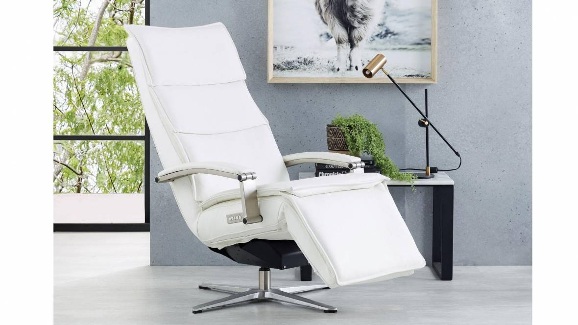 Bardot Leather Powered Recliner