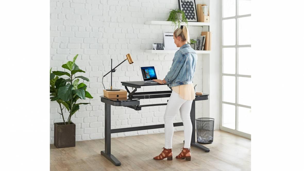 Mod-N-Sit Stand Desk