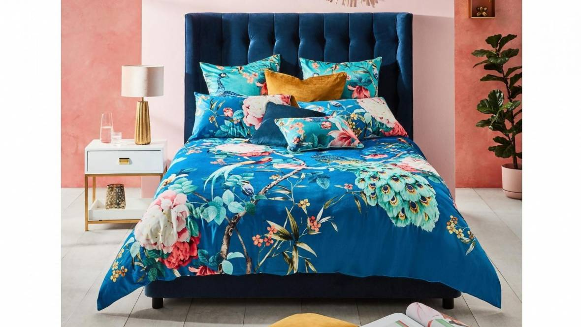 Heather Winged Bed