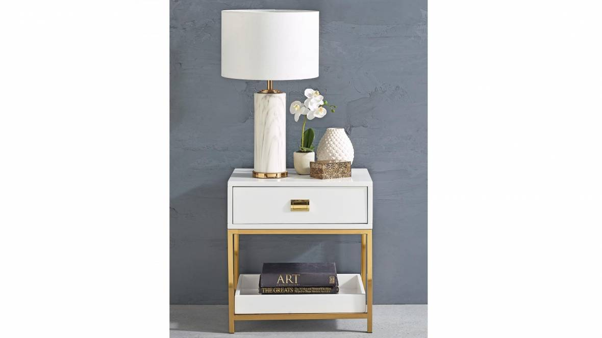 Bellview 1-Drawer Bedside Table