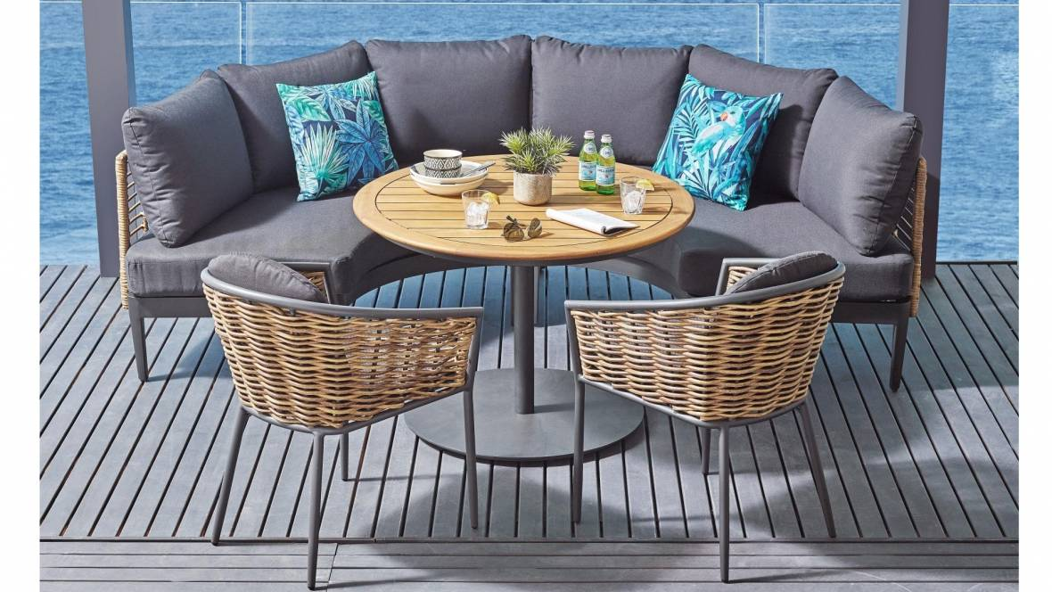 Dario 5-Piece Outdoor Lounge/Dining Setting