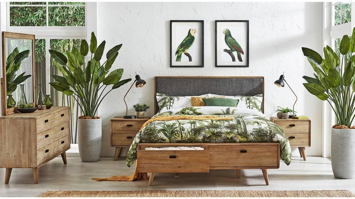 Braga 2-Drawer Bed