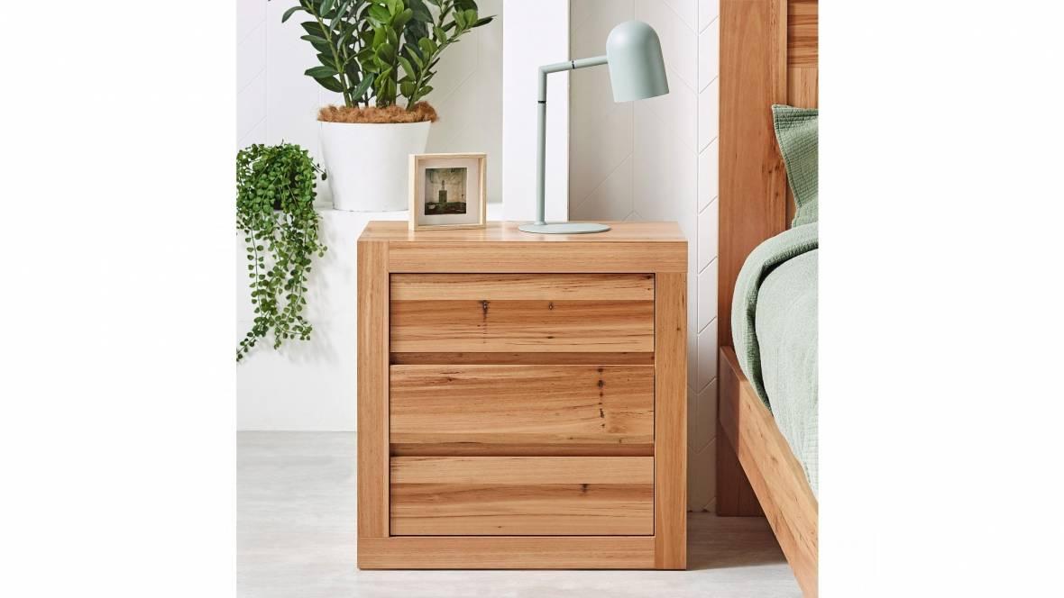 Montage 3-Drawer Bedside Table
