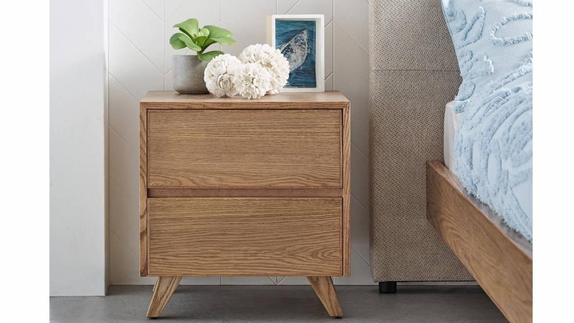 Harrison 2-Drawer Bedside Table